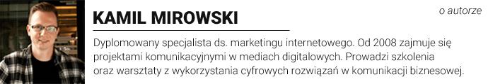 Kamil Mirowski - Employer Branding Proffesional